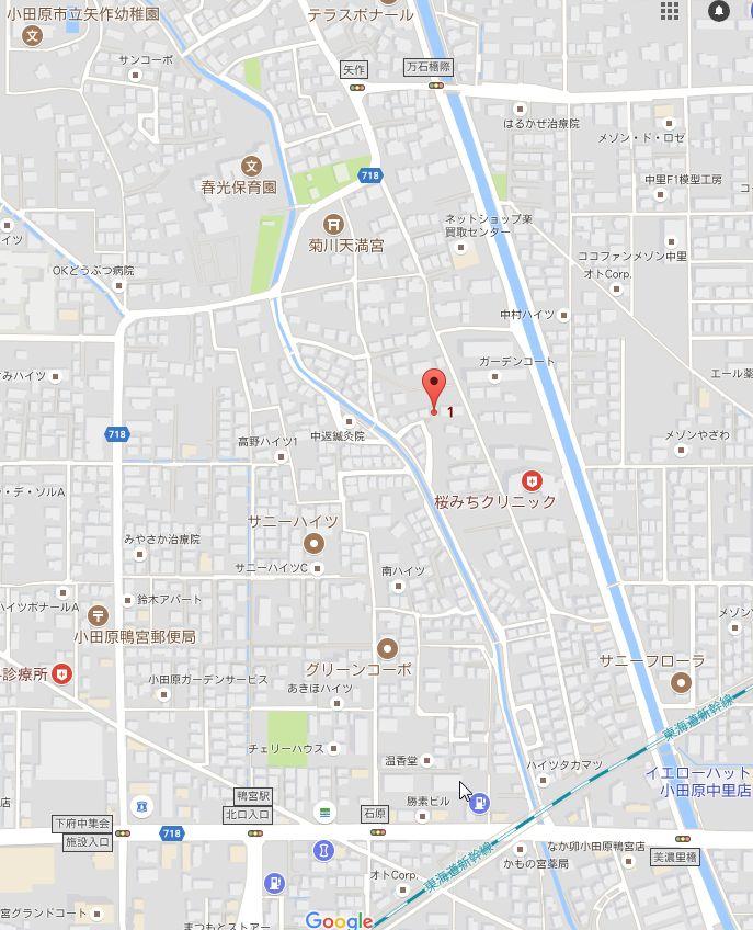 森下工務店 地図